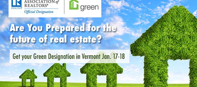 NAR Green Designation in Vermont