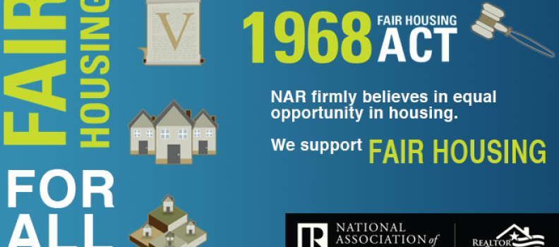 April is Fair Housing Month!