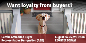 Get Your Accredited Buyers Representative (ABR) Designation in Vermont!
